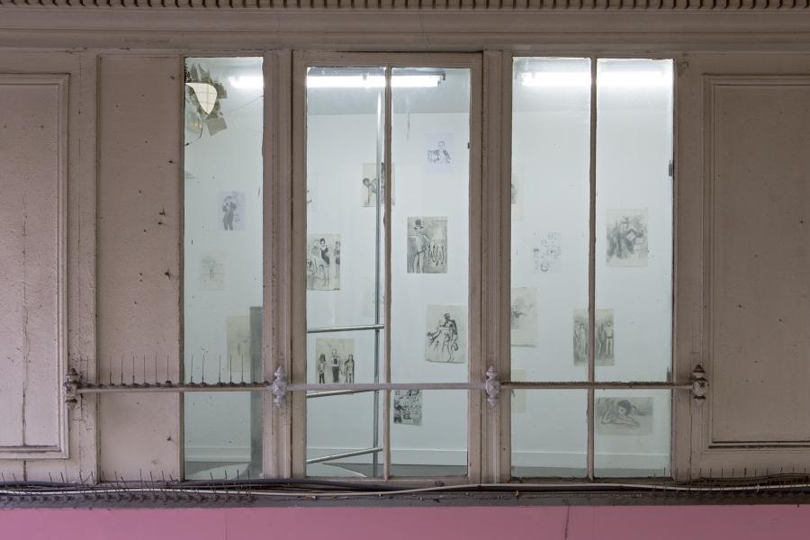 Passage du Pinceau - Jean-Luc Blanc  Clément Rodzielski. (Goton Paris)
