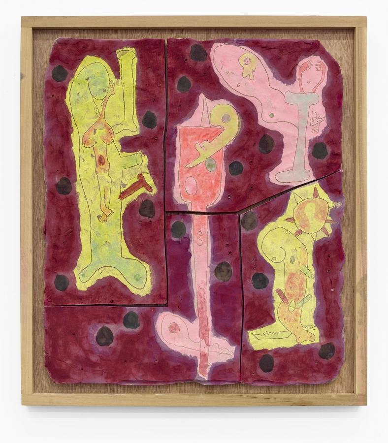 This Anal Crime of Being: New Ceramics - Richard Hawkins. (Goton Paris)